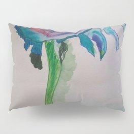 Flower inspiration modern paintings by Christian T. Pillow Sham