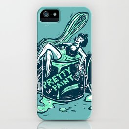 Pretty In Paint iPhone Case