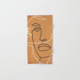 Abstract Face 6 Hand & Bath Towel