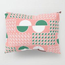 Retro construct Pillow Sham