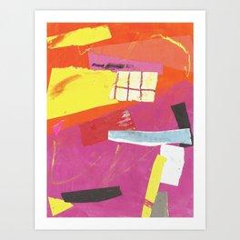 color response Art Print