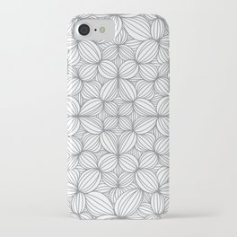 Gray or grey iPhone Case