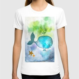 Ginkelmier Land ~ Whale  T-shirt