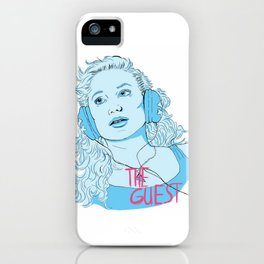 The Guest - Haunted When The Minutes Drag iPhone Case