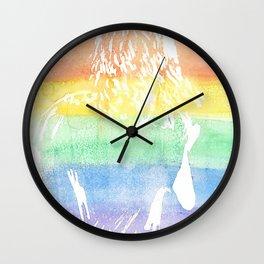 Rainbow Flag Harry Wall Clock