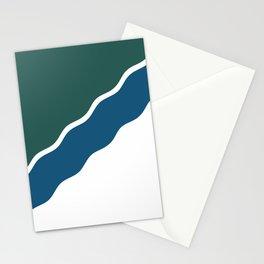 flag of Novosibirsk Stationery Cards