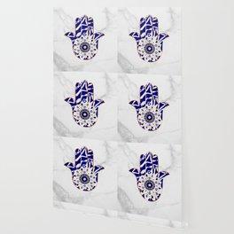 Talk to the Evil Eye Hamsa Hand Wallpaper