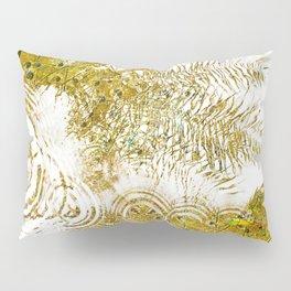 Aqua Metallic Series Skip Pillow Sham