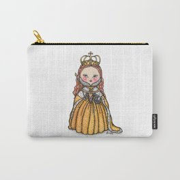 Queen Elizabeth I of England Coronation Carry-All Pouch
