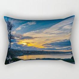 Sunrise From the Wedge Rectangular Pillow