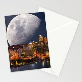 Spacey Pittsburgh Stationery Cards