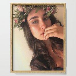 Lauren Jauregui 4 Serving Tray