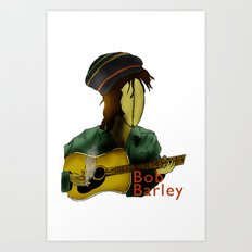 Bob Barley Art Print