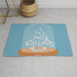 A VERY MERRY CHRISTMAS AND HAPPY NEW YEAR Rug