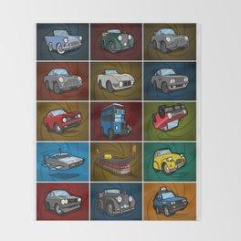 StarCars: British Super Spy Collection Throw Blanket