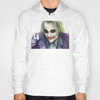 joker Hoodies featuring Joker  by Olechka