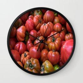 #big #fresh #red #Tomato  Wall Clock