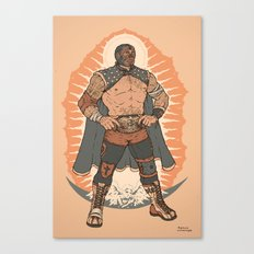 Lucha De Guadalupe Canvas Print