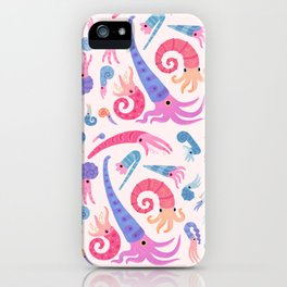 Ancient cephalopods iPhone Case