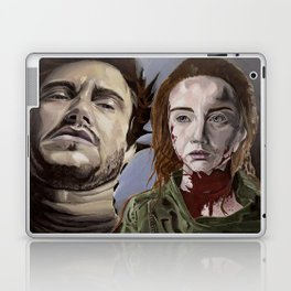 Abigail and Will 2., acrylic painting Laptop & iPad Skin