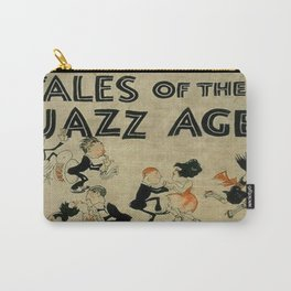Tales of the Jazz Age vintage book cover - Fitzgerald Carry-All Pouch