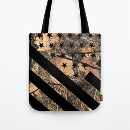 Hunting Camouflage Flag 3 Tote Bag