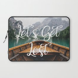 Live the Adventure - Lets Get Lost Laptop Sleeve