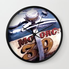 MOTORCYCLE 39 Wall Clock
