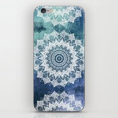 BOHOCHIC MANDALAS IN BLUE iPhone & iPod Skin