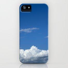 Clouds in the sky iPhone Case