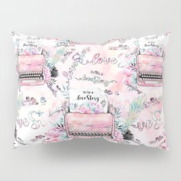 Love story Pillow Sham