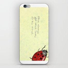 Ladybird Urinal iPhone Skin