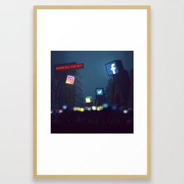 DON'T KILL YOUR SELF (everyday 04-05-2018) Framed Art Print