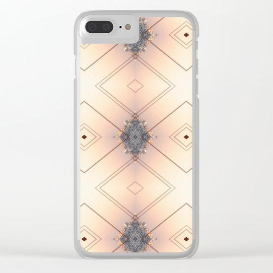 DIAMONDS Clear iPhone Case