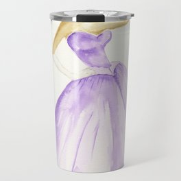 You Cannot Ignore the Color Purple Travel Mug