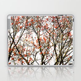 Red rowan fruits or ash berries Laptop & iPad Skin