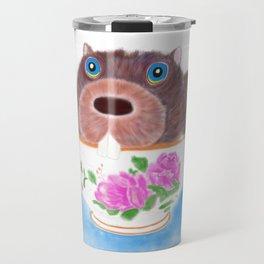 """There's a Beaver in My Sugar Bowl!"" Travel Mug"