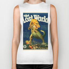 Vintage poster - The Lost World Biker Tank