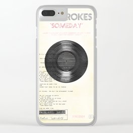 The Strokes: Someday Clear iPhone Case