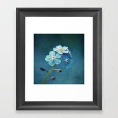 I'm Blue For You Framed Art Print
