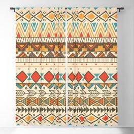 Aztec pattern 03 Blackout Curtain