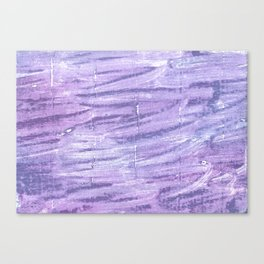 Soap abstract watercolor Canvas Print