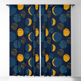 GLORIOUS MOON Blackout Curtain