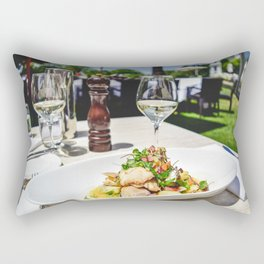 NEW ZEALAND: Lunch at the Mission Winery, Wellington, NZ Rectangular Pillow