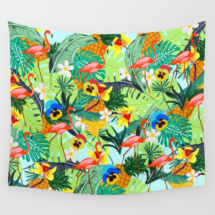 Tropical III Wall Tapestry