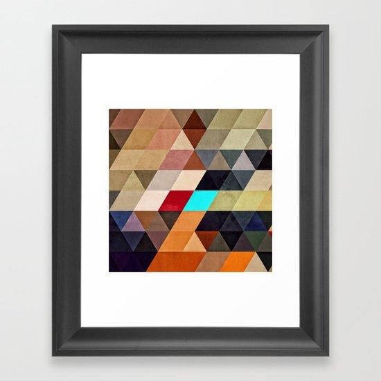 nww pyyce Framed Art Print