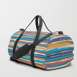 Tuscan painted summer Duffle Bag