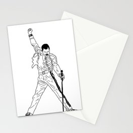 Don't Stop Me Now Stationery Cards