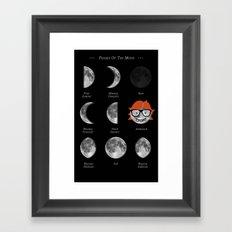 The Dork Side Of The Moon Framed Art Print