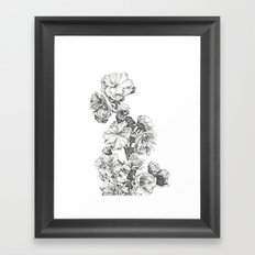 Flower Study Framed Art Print
